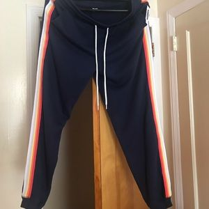 Jogging pants stripes